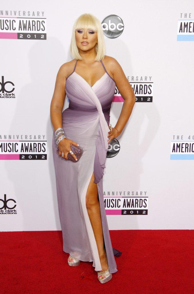 Christina Aguilera at the American Music Awards