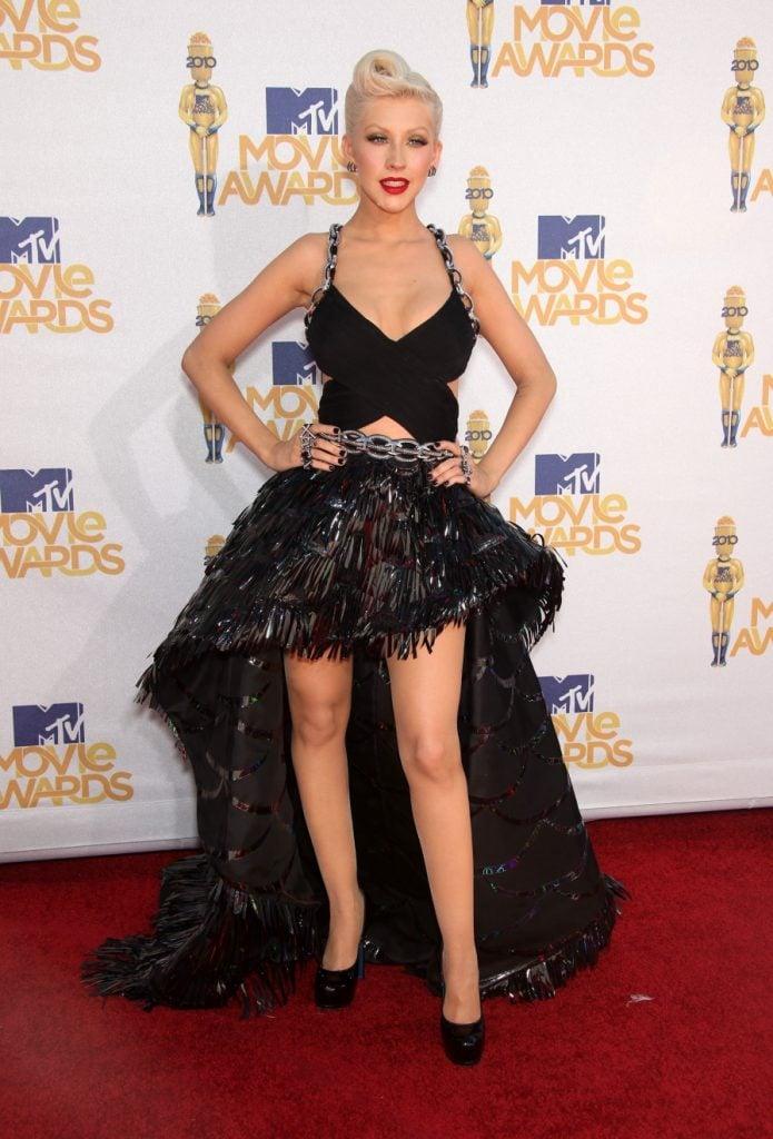 Christina Aguilera at the MTV Movie Awards