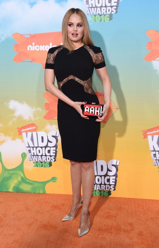 Debby Ryan at the Nickeloden's Kid's Choice Awards
