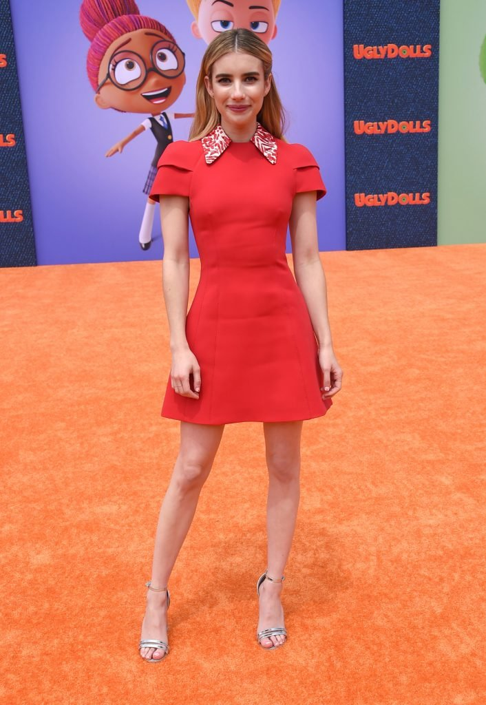 Emma Roberts at the Ugly Dolls World Premiere