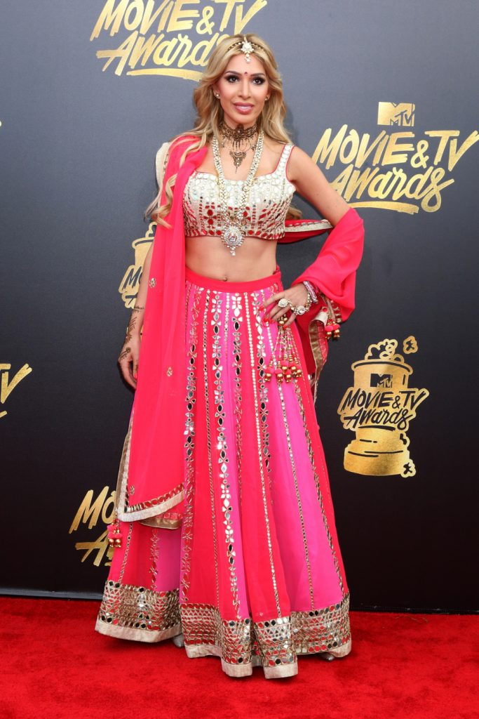 Farrah Abraham at the MTV Movie and Television Awards