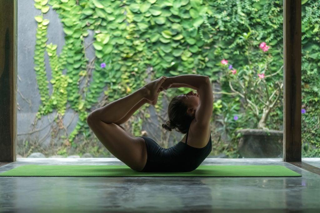 Gisele Bündchen Yoga