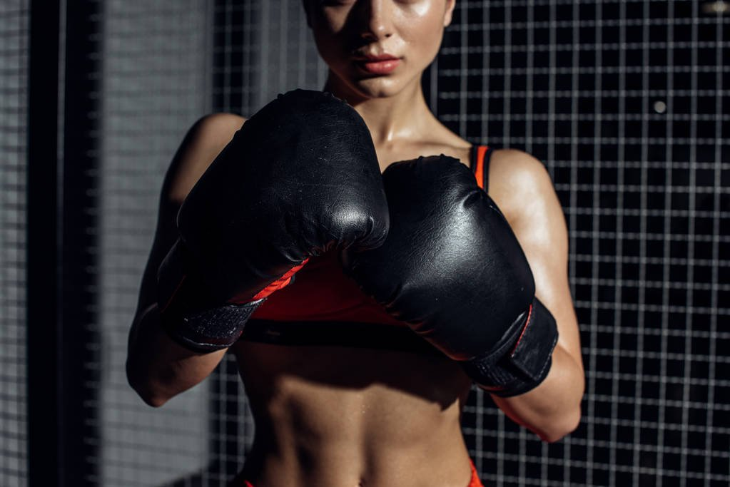 Halle Berry Boxing