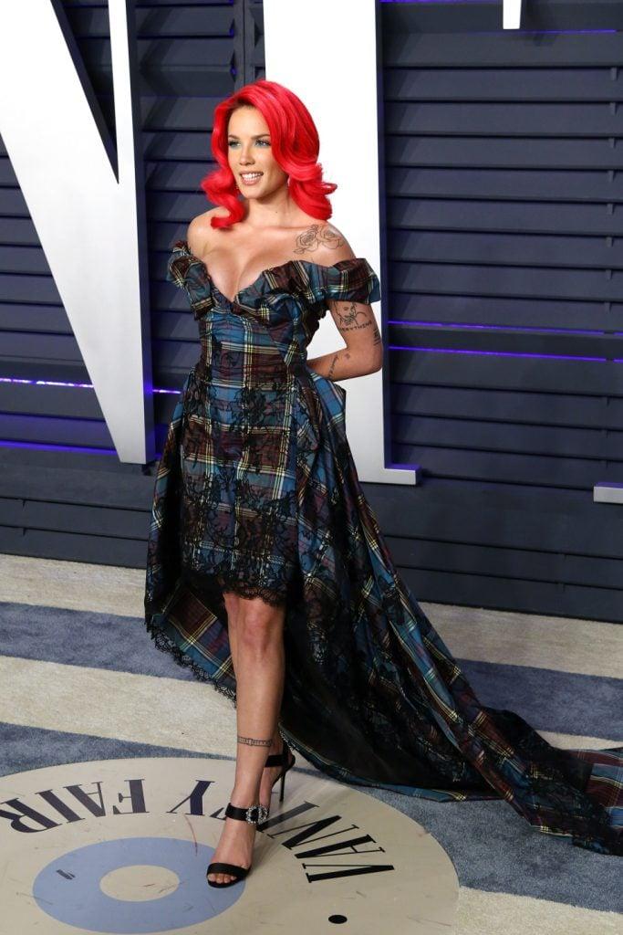 Halsey at the Vanity Fair Oscar Party