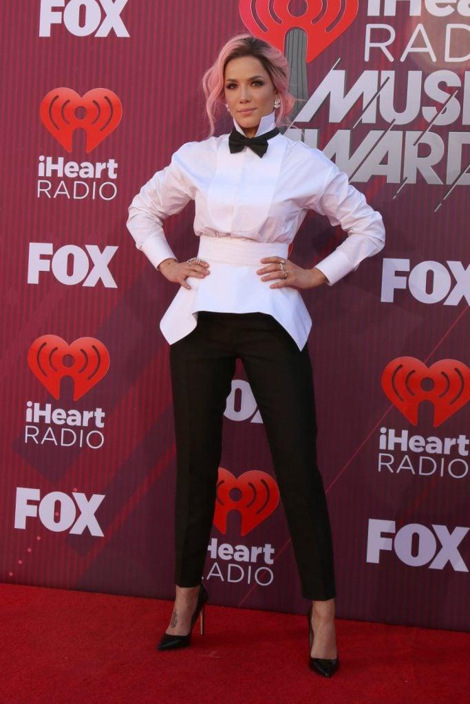 Halsey at the iHeart Radio Music Awards
