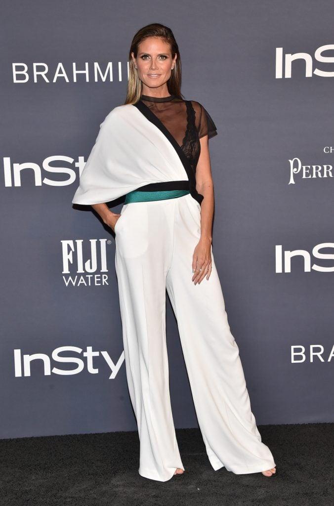 Heidi Klum at the InStyle Awards