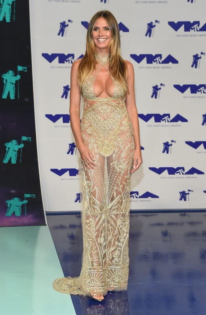 Heidi Klum at the MTV Video Music Awards