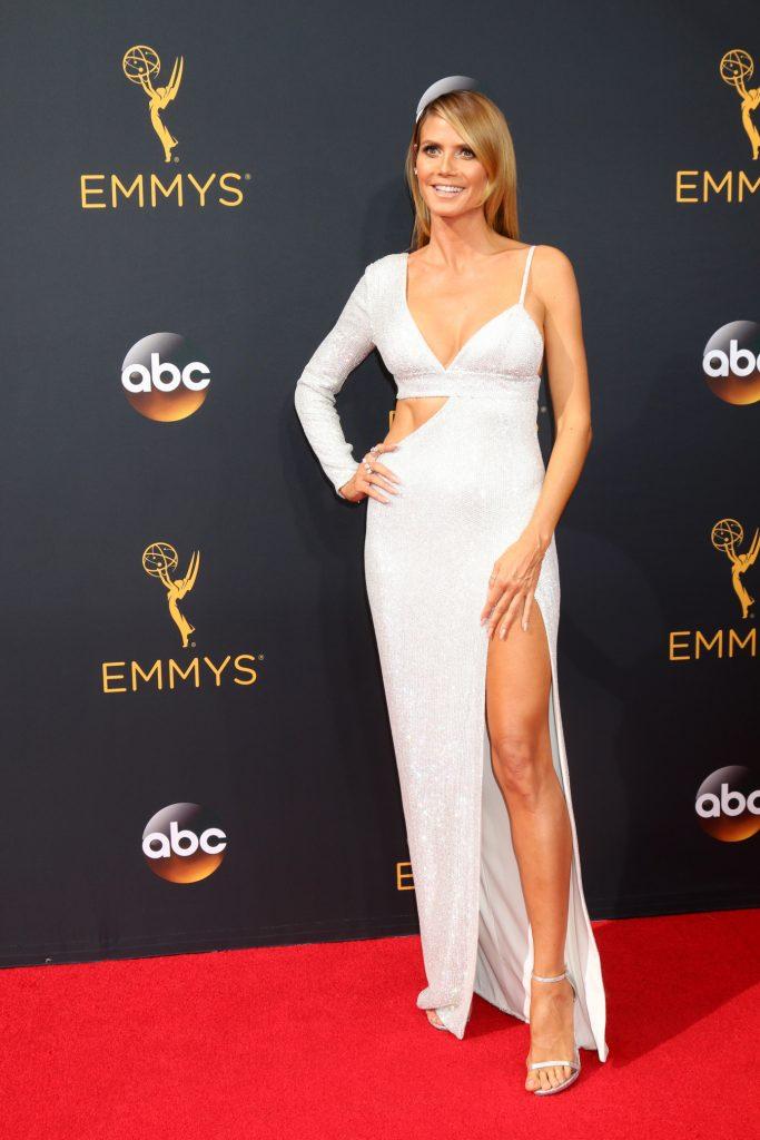Heidi Klum at the Primetime Emmy Awards