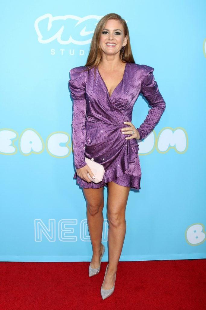 Isla Fisher at The Beach Bum Premiere