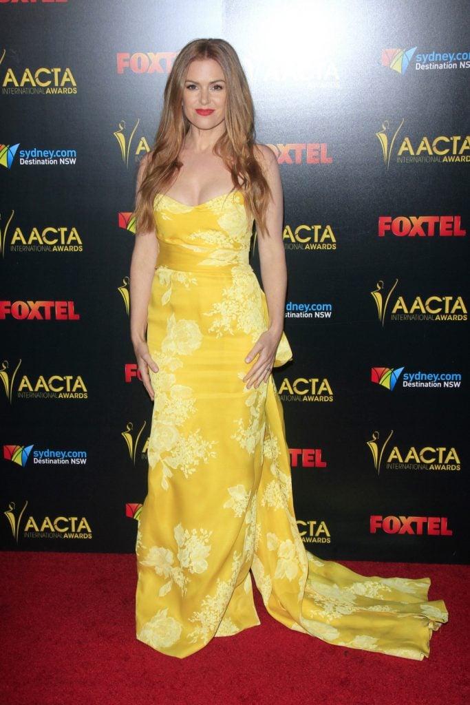 Isla Fisher at the AACTA International Awards