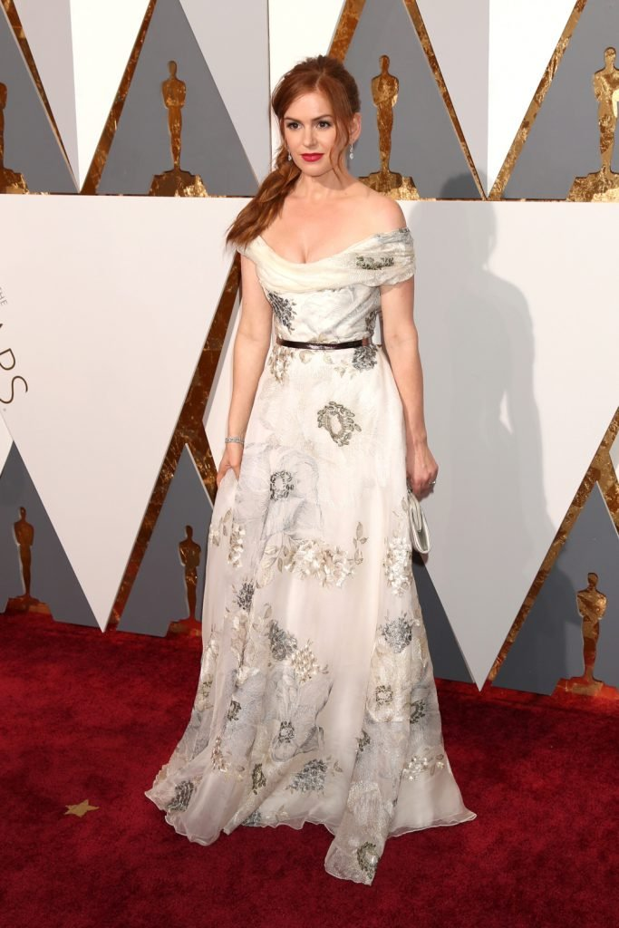 Isla Fisher at the Annual Academy Awards