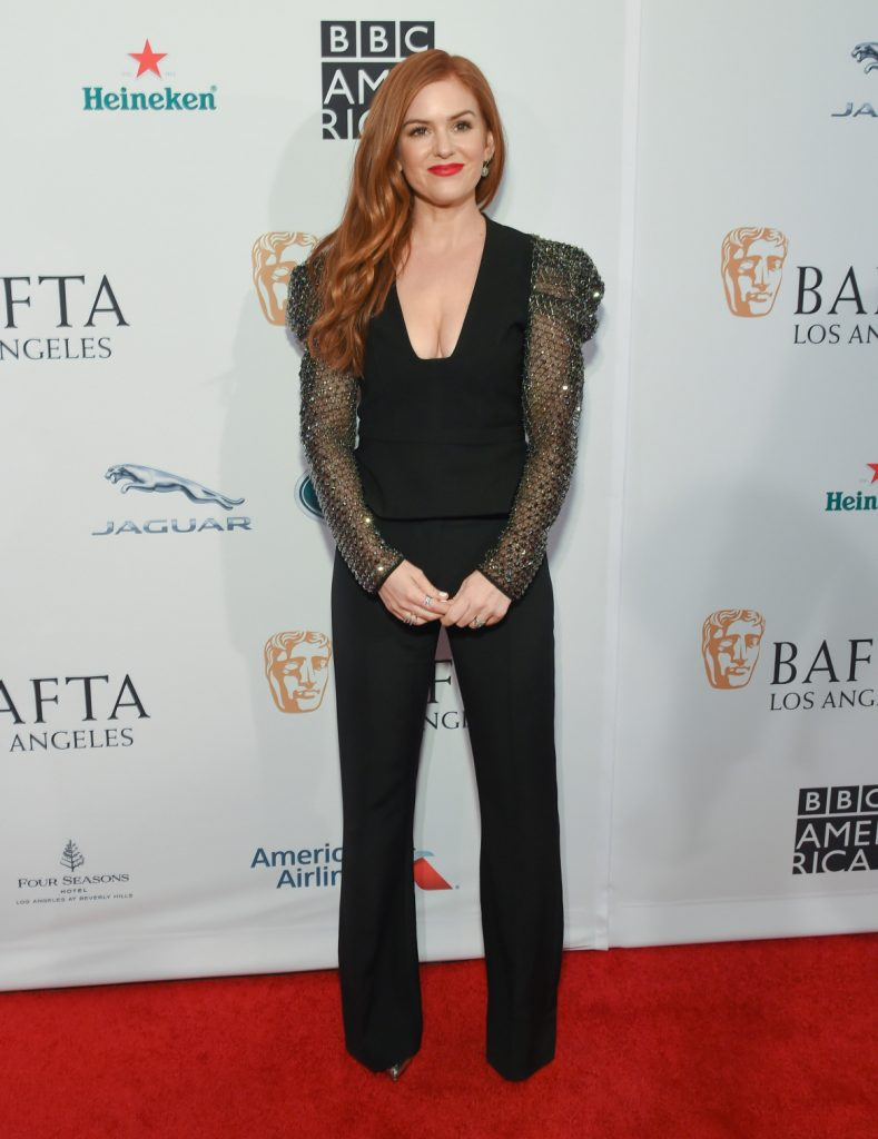 Isla Fisher at the The BAFTA Los Angeles Tea Party