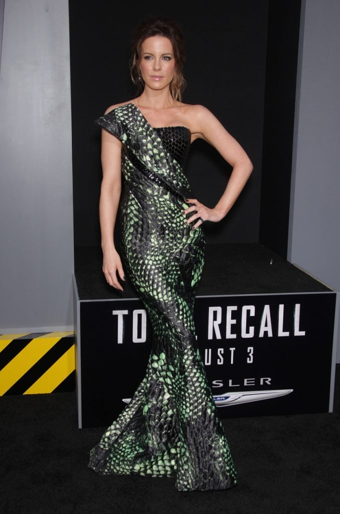 Kate Beckinsale at the Total Recal Los Angeles Premiere