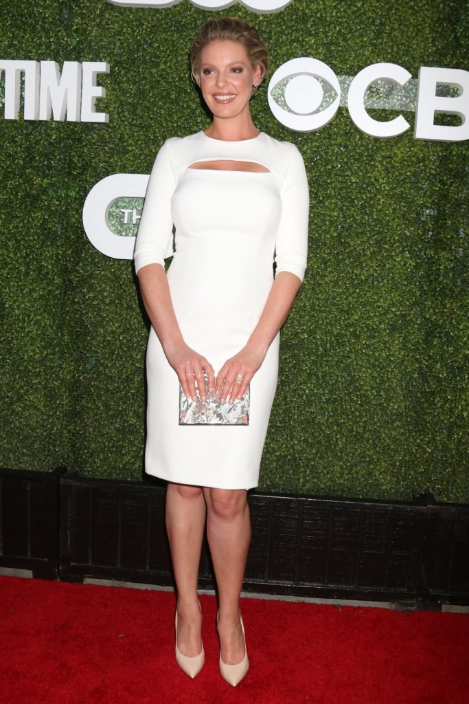 Katherine Heigl at the CBS, CW, Showtime Summe Party