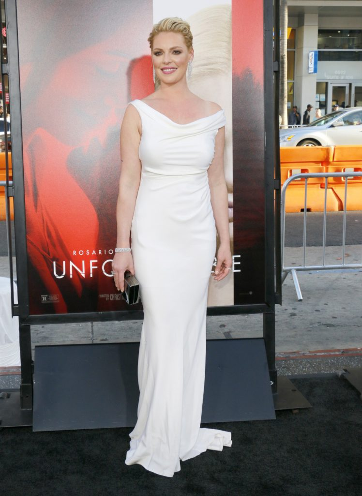 Katherine Heigl at the premiere of Unforgettable