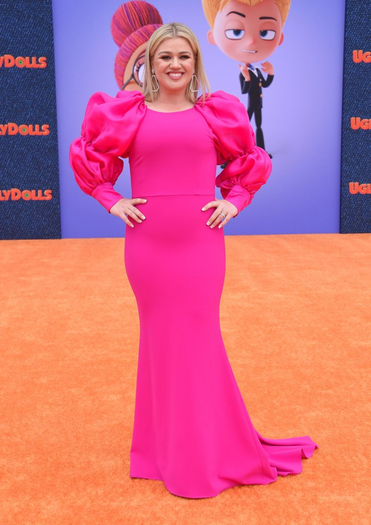 Kelly Clarkson at the Ugly Dolls World Premiere