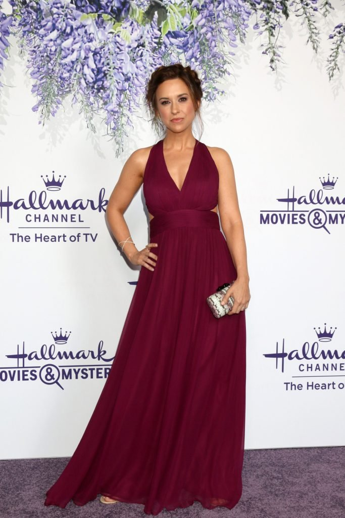 Lacey Chabert at the Hallmark TCA Summer Party