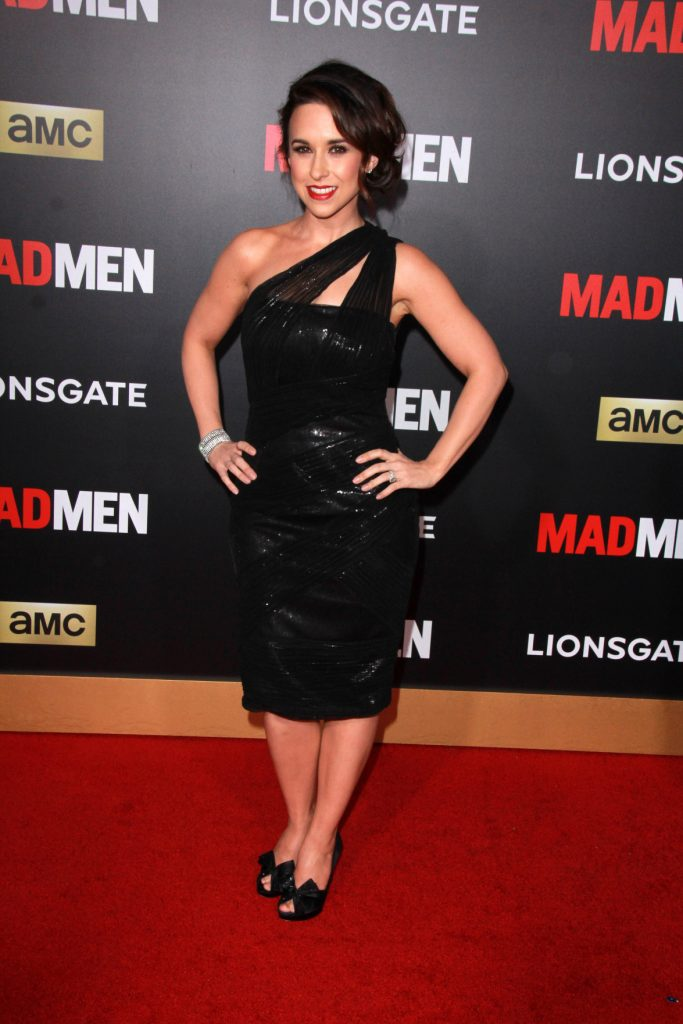Lacey Chabert at the Mad Men Black & Red Gala