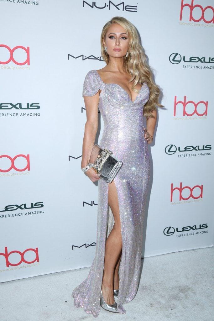 Paris Hilton at the Hollywood Beauty Awards