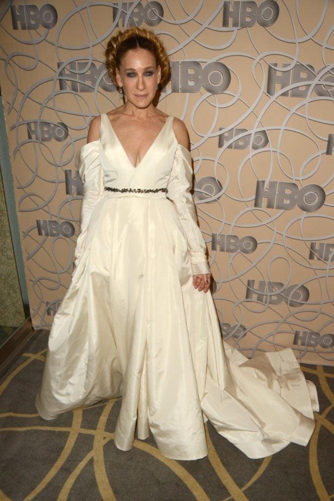 Sarah Jessica Parker at the HBO Golden Globes