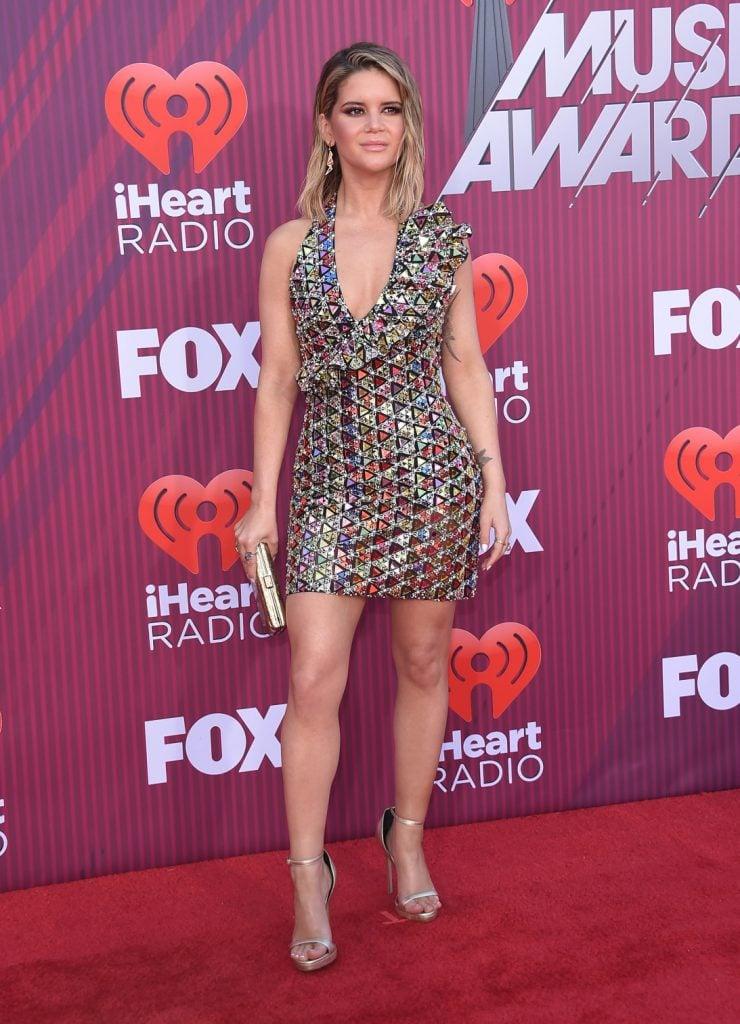 Singer Maren Morris at the iHeart Radio Music Awards