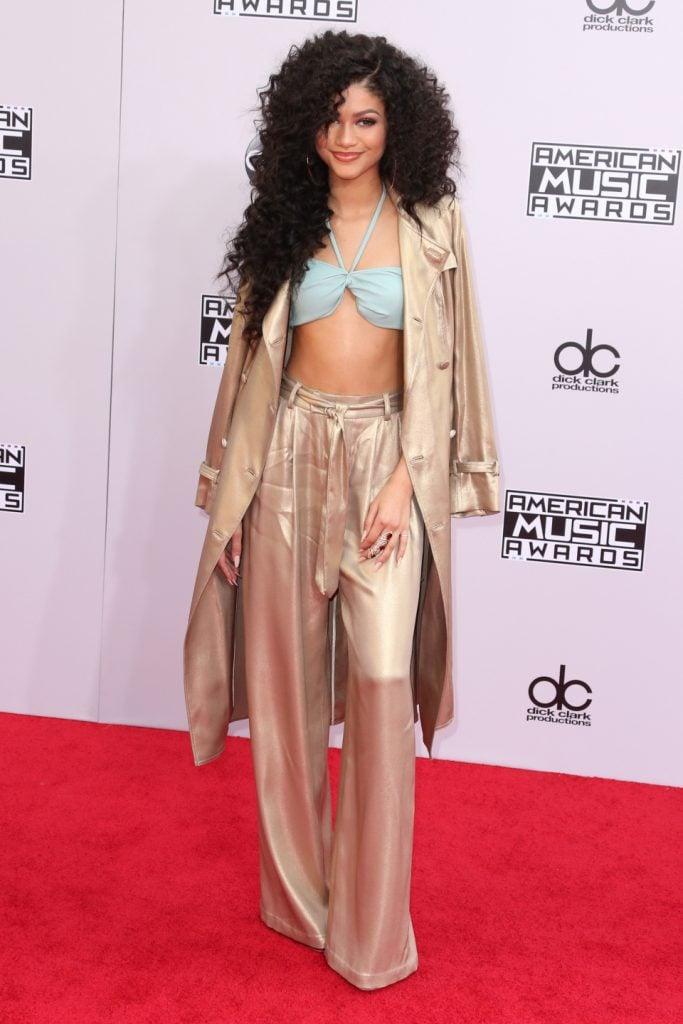 Zendaya Coleman at the American Music Awards
