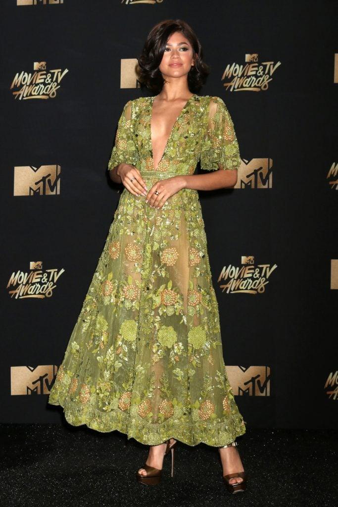 Zendaya at the MTV Movie and Television Awards