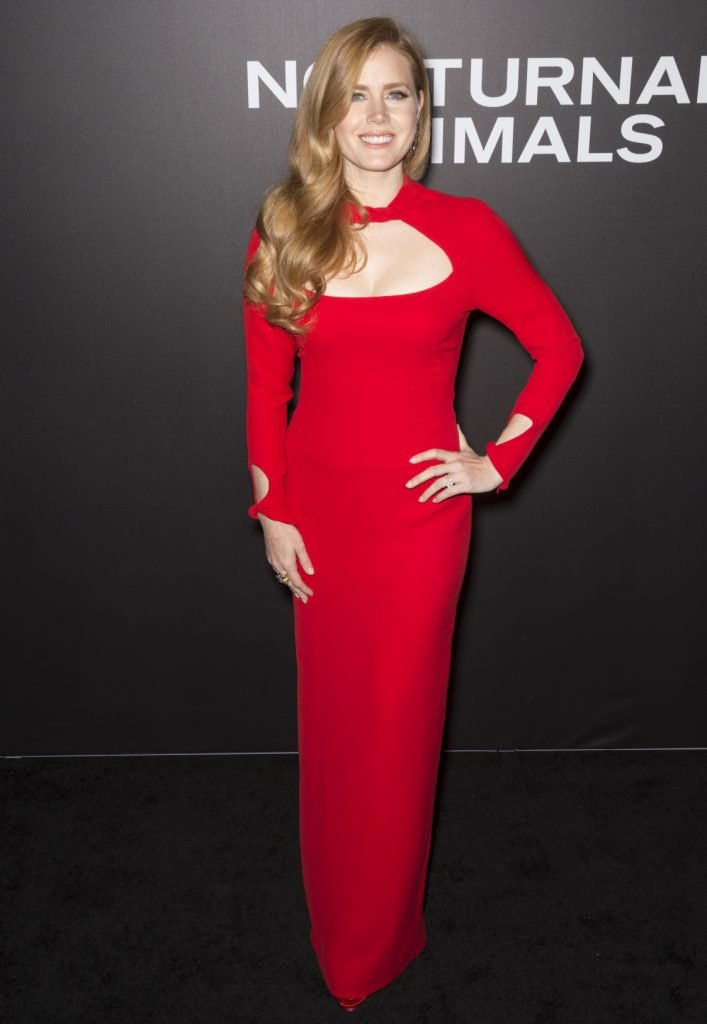 Actress Amy Adams at the Nocturnal Animals premiere