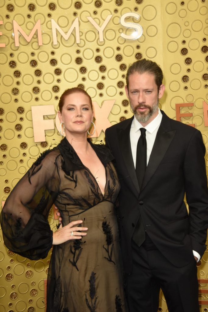 Amy Adams with Darren Le Gallo at the Primetime Emmy Award