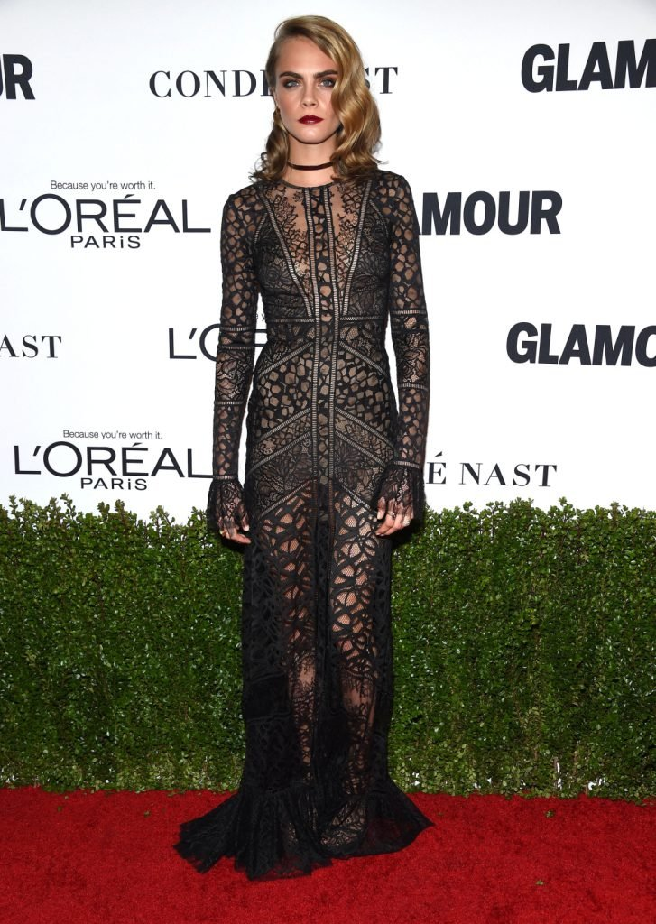 Cara Delevingne at the Glamour's Women of the Year Awards