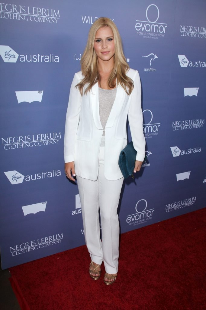 Claire Holt at the Australians in Film Annual Breakthrough Awards