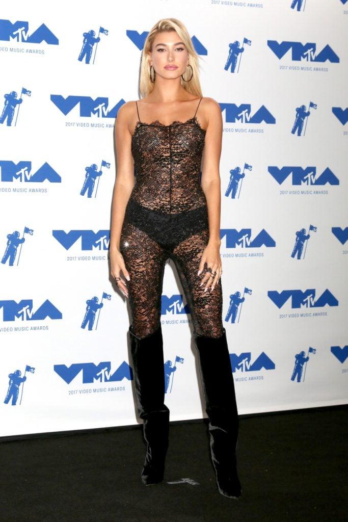 Hailey Baldwin at the MTV Video Music Awards
