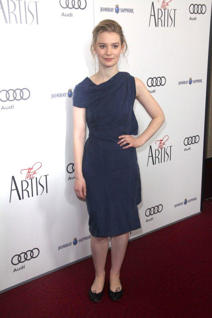 Mia Wasikowska at The Artist Special Screening