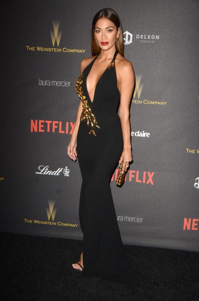 Nicole Scherzinger at the Golden Globe After Party