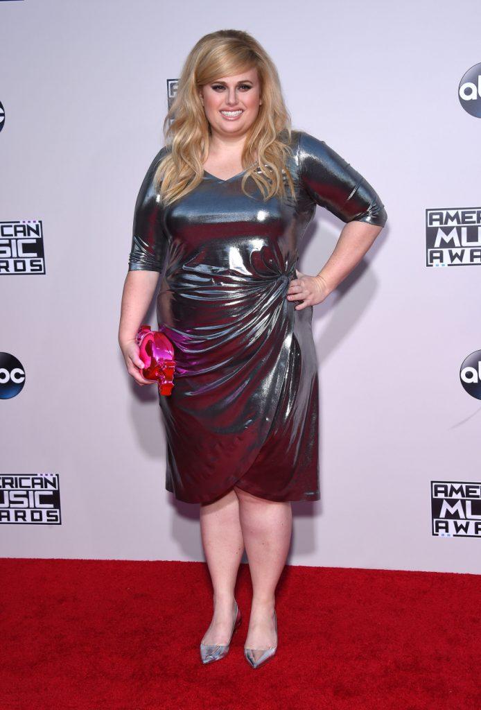 Rebel Wilson at the American Music Awards