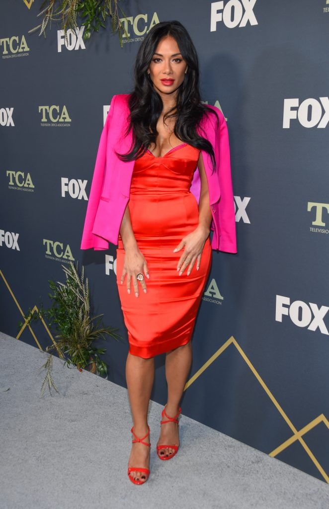 Singer Nicole Scherzinger at the FOX Winter TCA