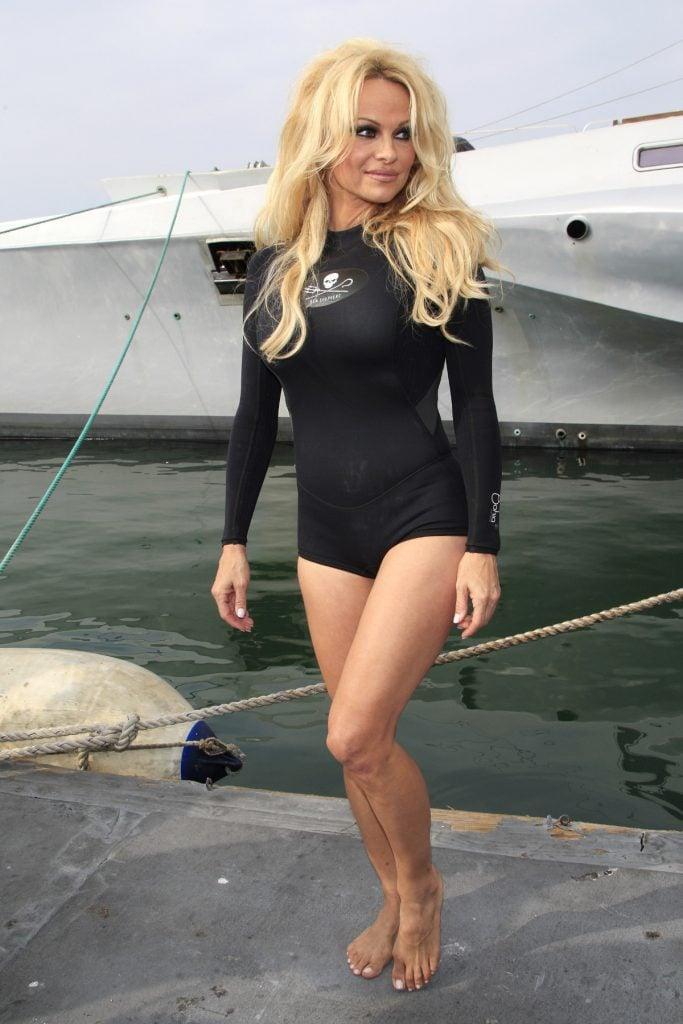 Actress-Pamela Anderson