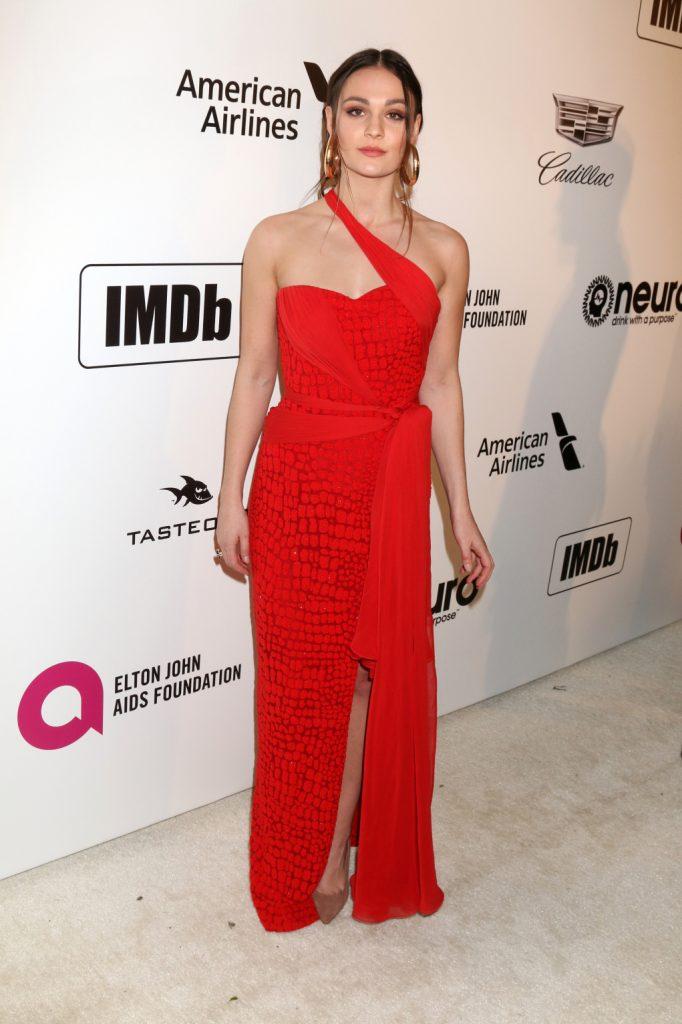 Actress Sophie Skelton