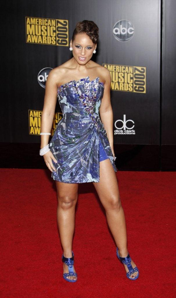Alicia Keys at the American Music Awards