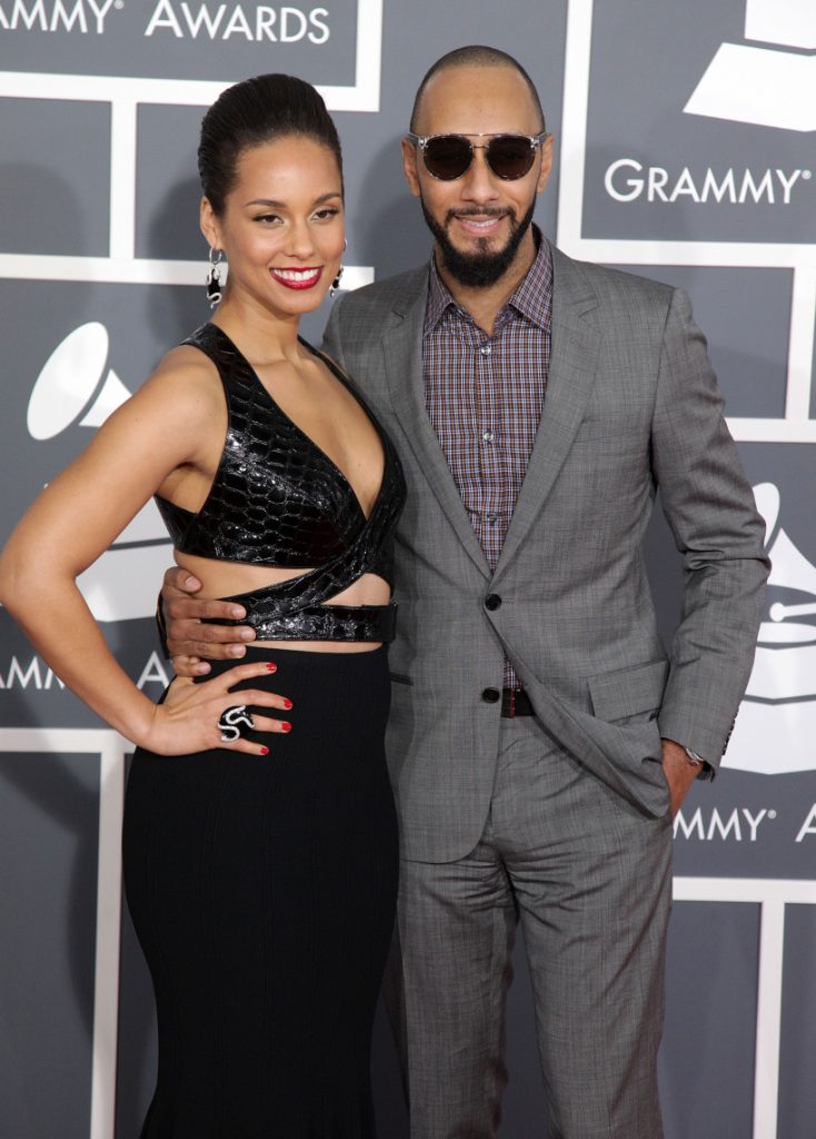 Alicia Keys with Swizz Beatz