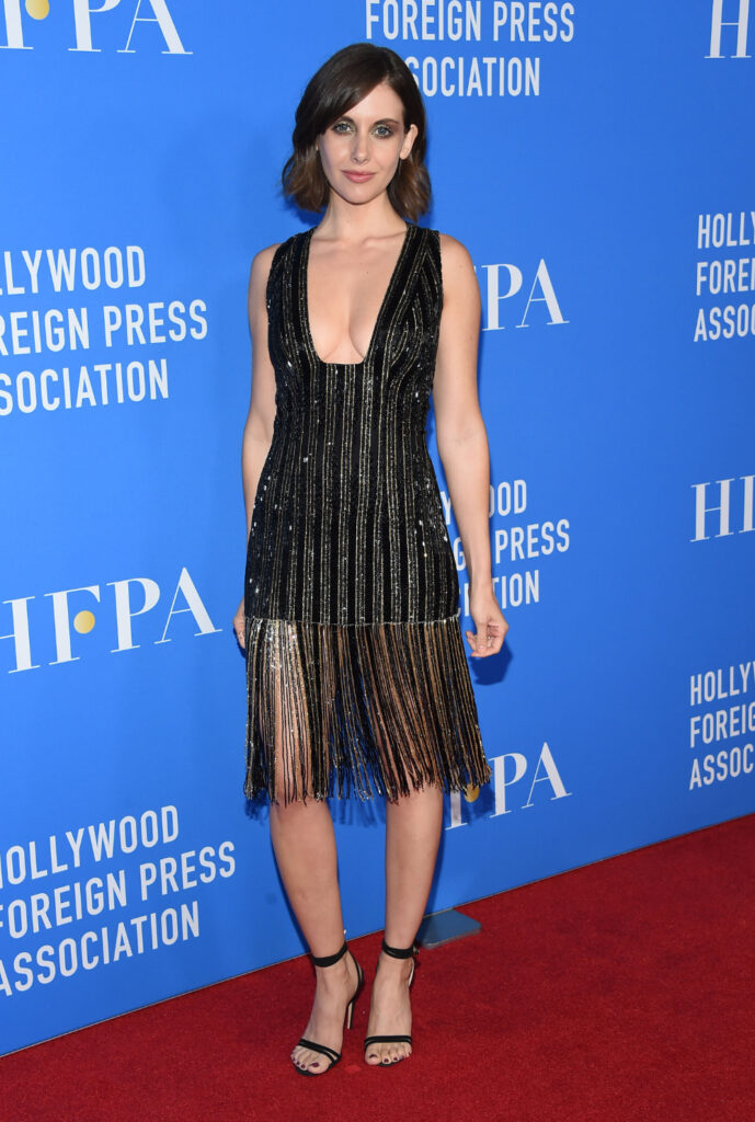 Alison Brie at HFPA's Grants Banquet