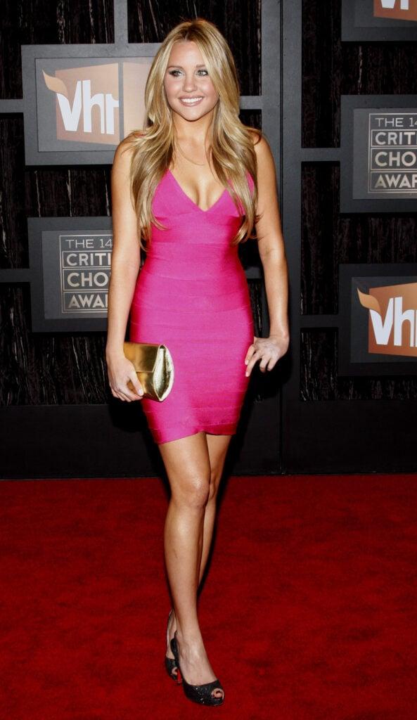 Amanda Bynes at Critics Choice Awards