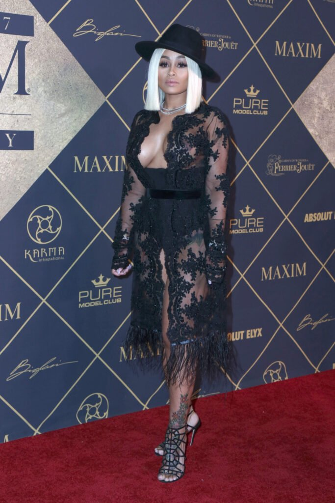 Blac Chyna at Maxim Hot 100 Party
