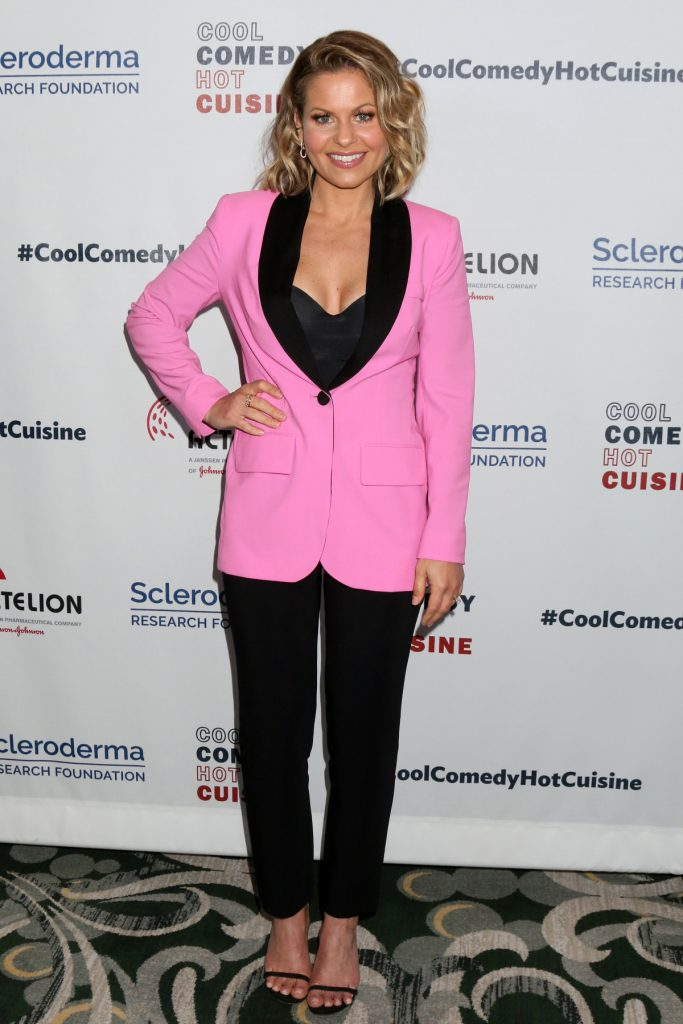 Candace Cameron Bure at Cool Comedy, Hot Cuisine