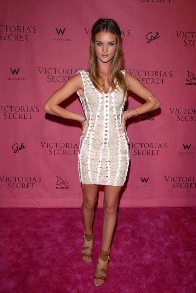 Candice Swanepoel at the Victoria's Secret Supermodels Celebrate