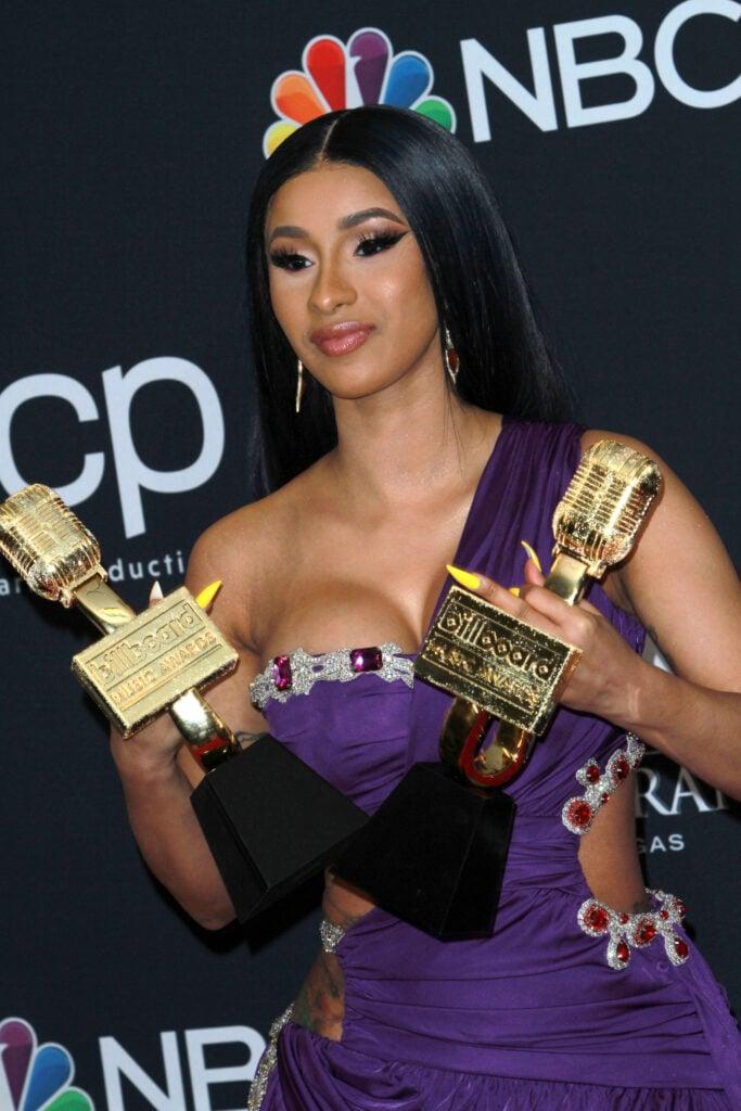 Cardi B at Billboard Music Awards