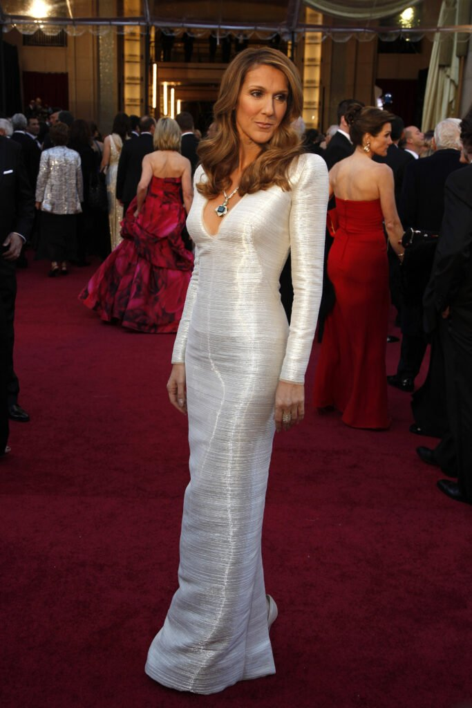 Celine Dion at Annual Academy Awards