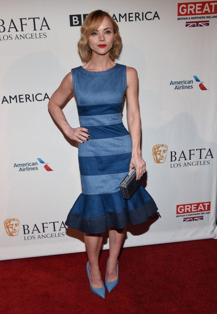 Christina Ricci at BAFTA Los Angeles Party