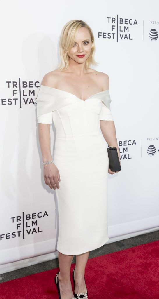 Christina Ricci at Tribeca Film Festival