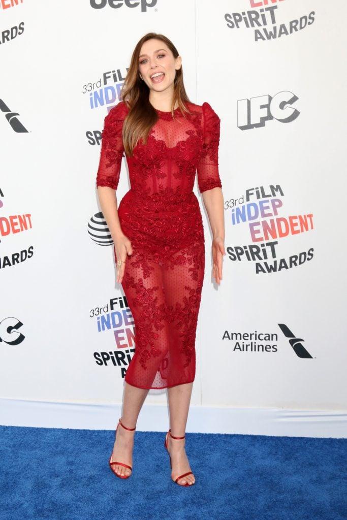 Elizabeth Olsen at Film Independent Spirit Awards